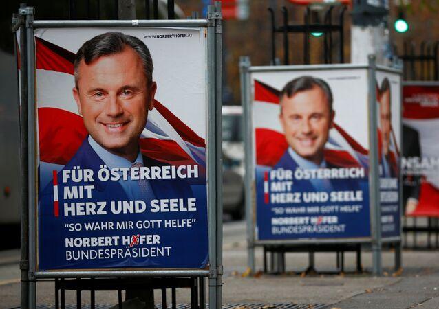 La campagne électoral du parti FPO