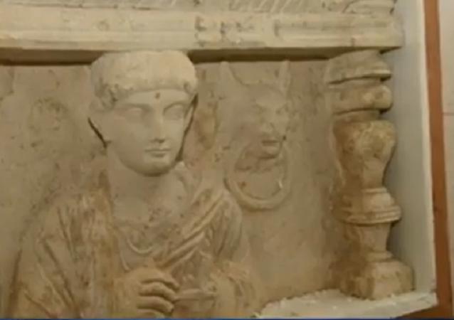 Les entrepôts de Genève abritaient illégalement des trésors de Palmyre