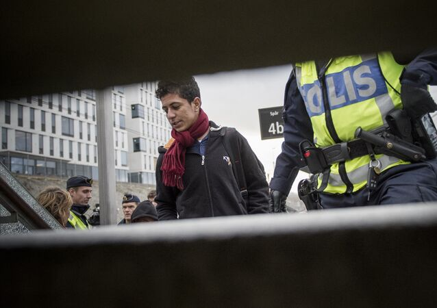 Migrants en Suède