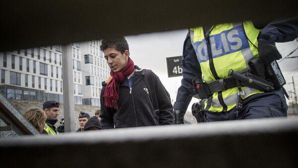 Migrants en Suède - Sputnik France