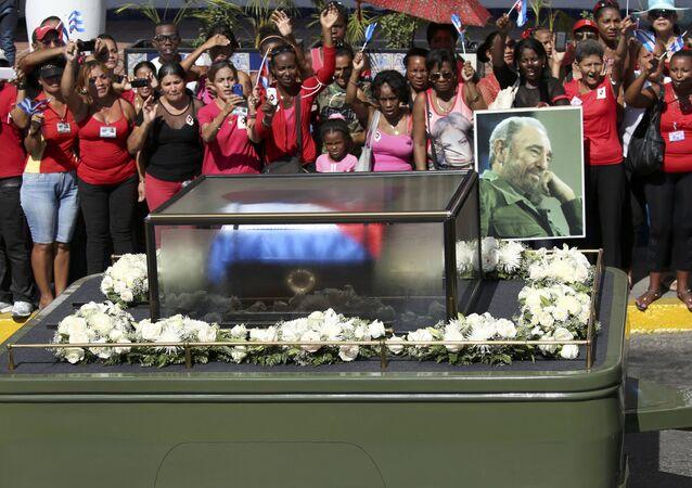 Cuba fait ses adieux à Fidel Castro