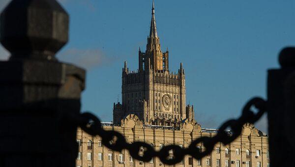 Le bâtiment du ministère russe des Affaires étrangères à Moscou - Sputnik France
