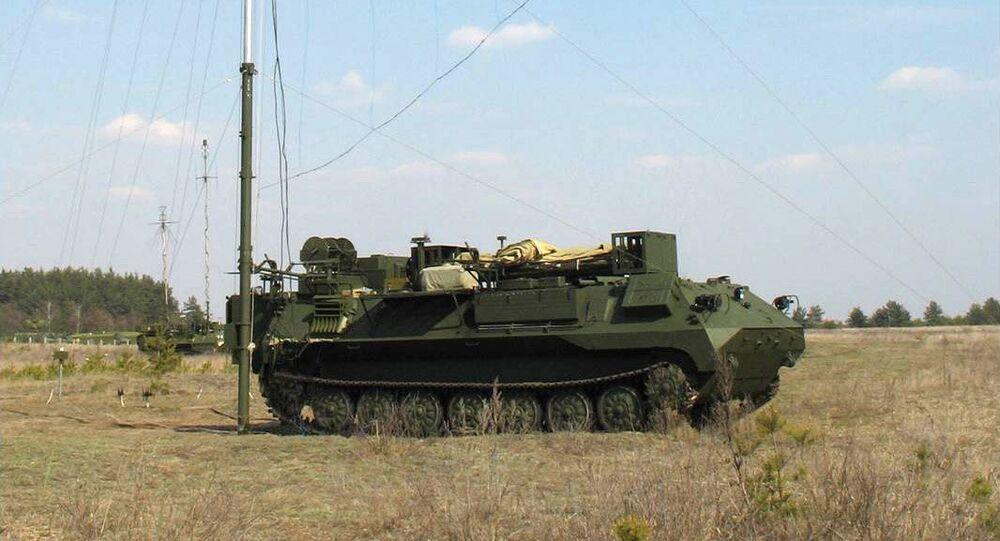 Un système russe de lutte électronique