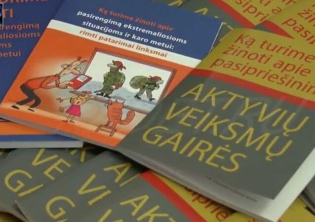 Ce manuel lituanien sur «l'intrusion russe» en images pour les plus petits