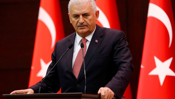 El primer ministro de Turquía, Binali Yildirim - Sputnik France