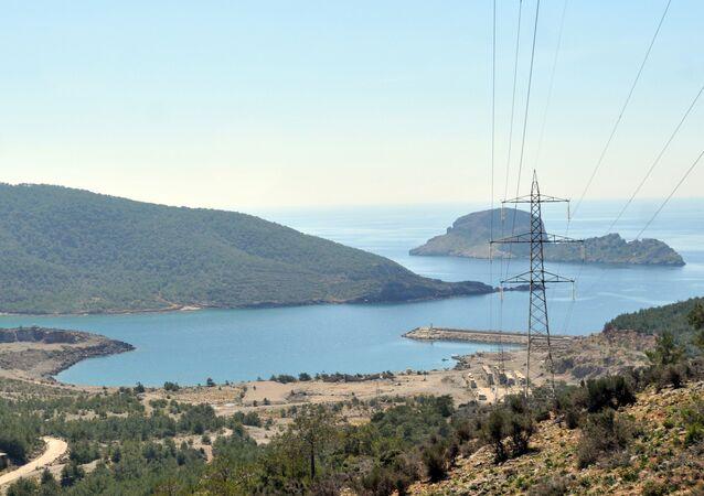 La vallée d'Akkuyu, dans la province turque de Mersin