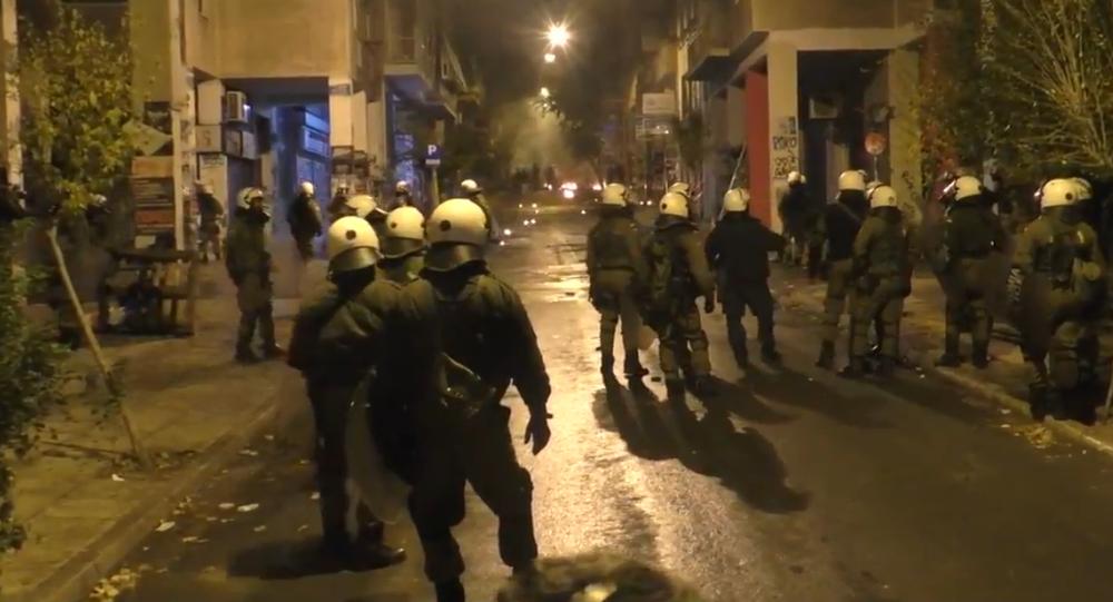 Émeutes à Athènes