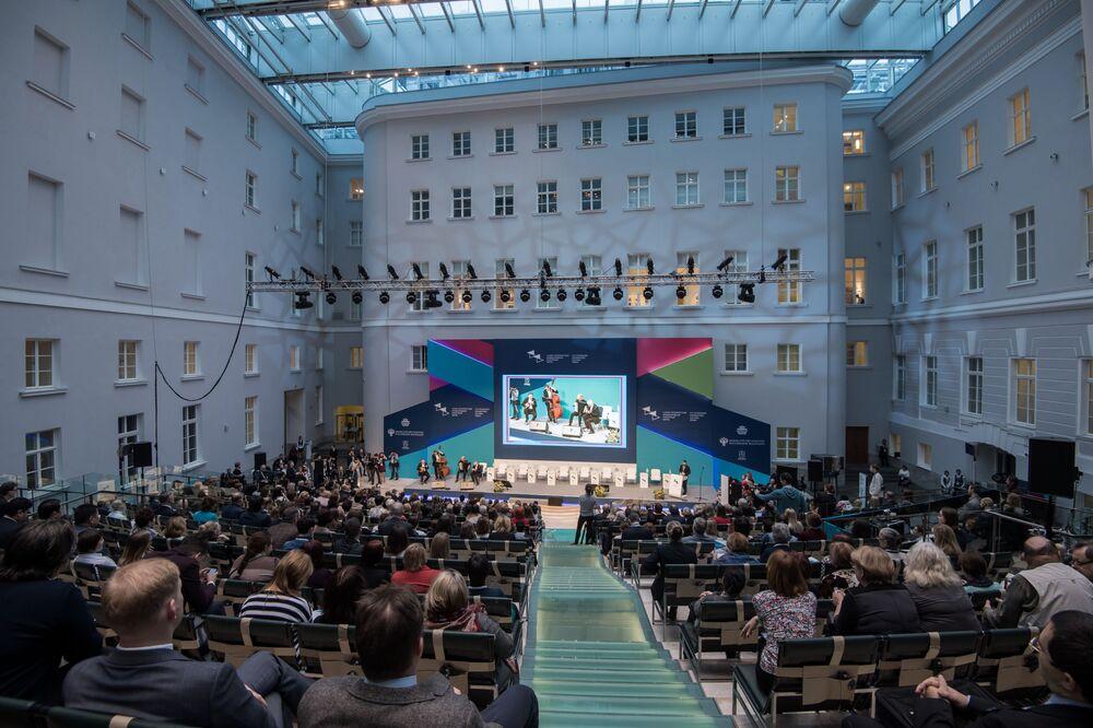 La cérémonie d'ouverture du Ve Forum international culturel à Saint-Pétersbourg