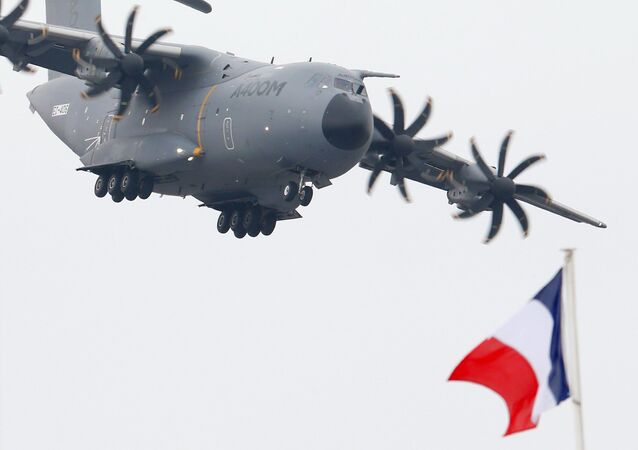 L'avion de transport militaire A400m