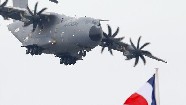 L'avion de transport militaire A400m - Sputnik France