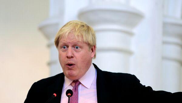 Le ministre des Affaires étrangères Boris Johnson - Sputnik France