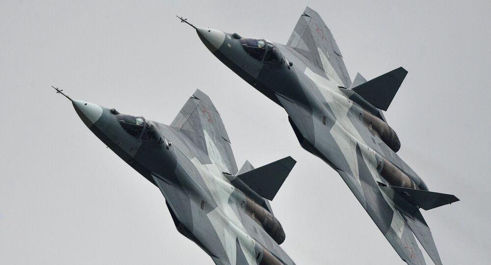 Les chasseurs russes de cinquième génération T-50