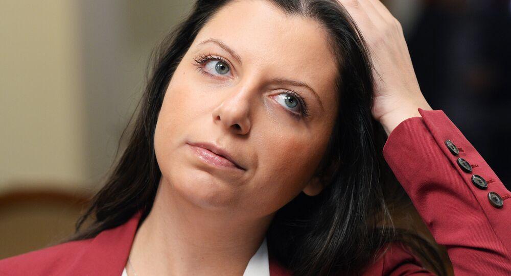 Margarita Simonyan, rédactrice en chef de la chaîne RT et de Sputnik