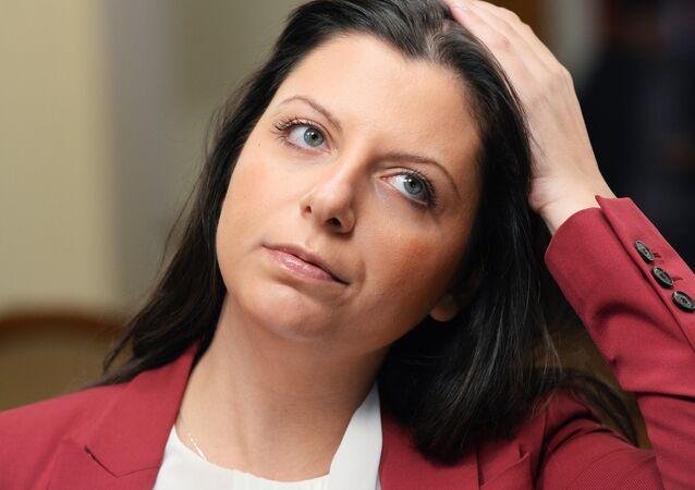 Margarita Simonyan, rédactrice en chef de RT et de Rossiya Segodnya