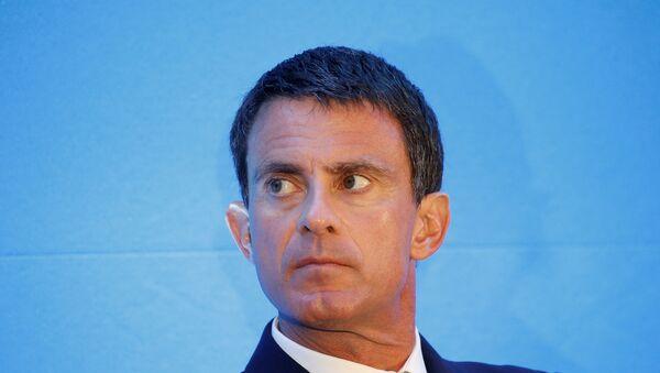 Manuel Valls, ex-Premier ministre français - Sputnik France