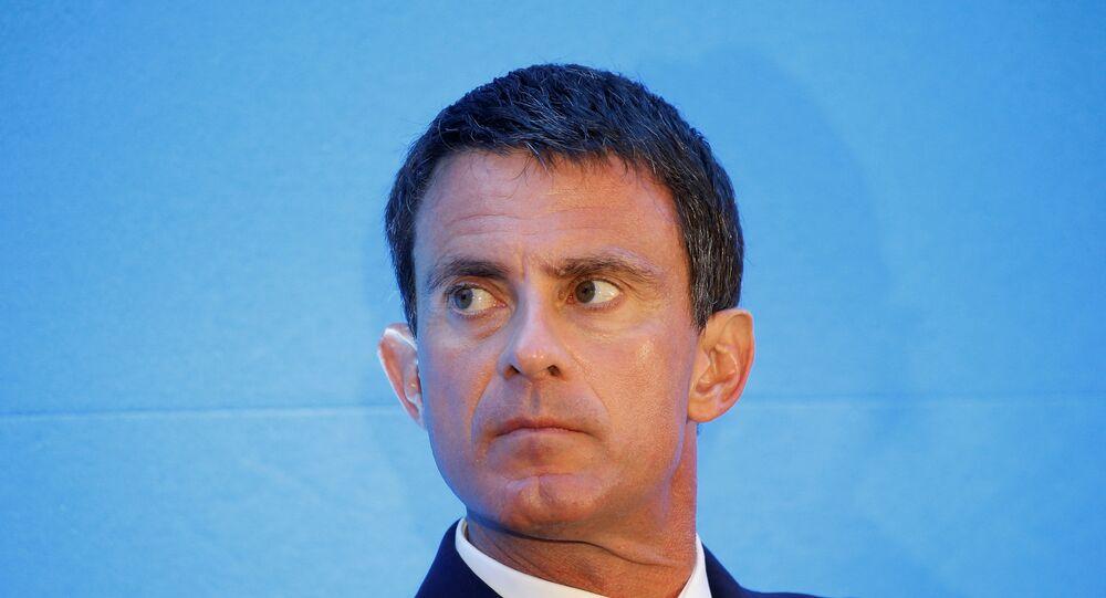 Manuel Valls, ex-Premier ministre français