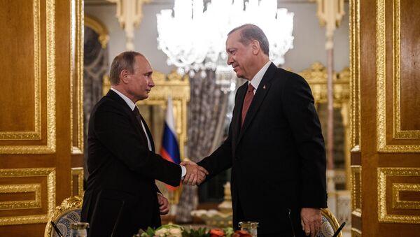 Vladimir Poutine et Erdogan - Sputnik France