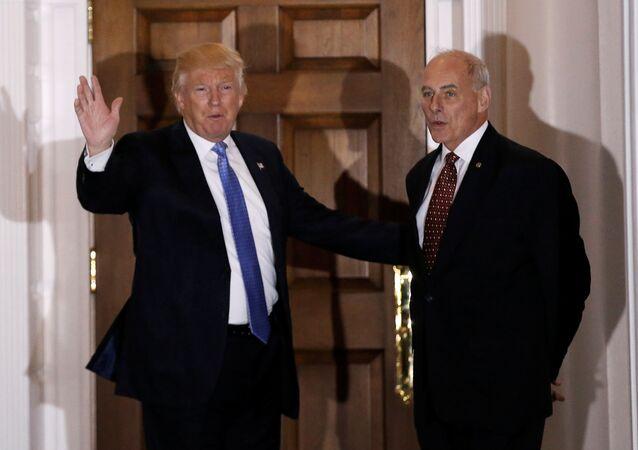 Donald Trump et John Kelly