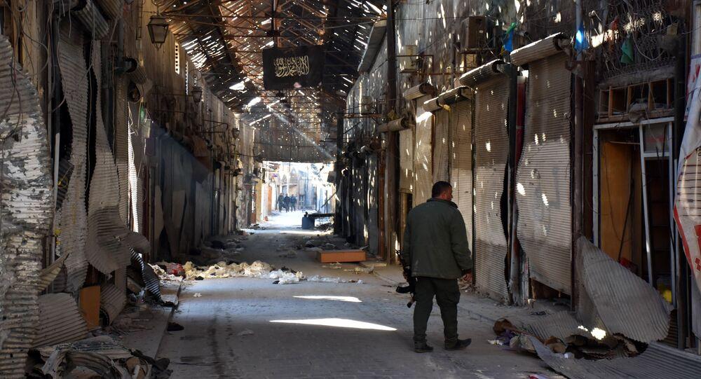 l'armée syrienne, Alep