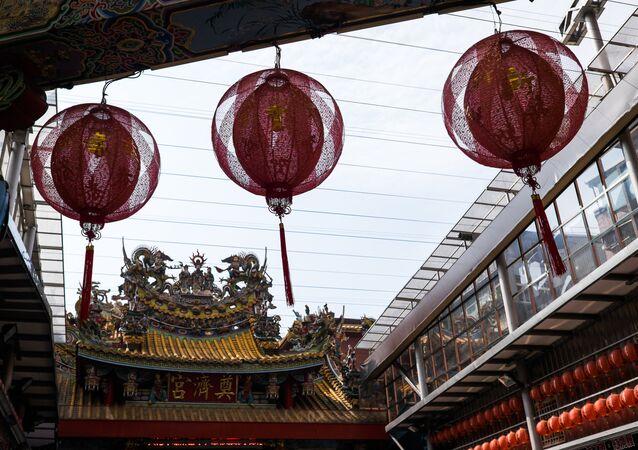 La ville de Keelung, à Taïwan
