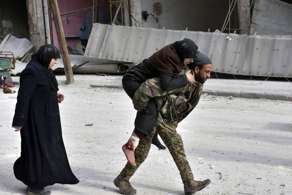La situation à Alep