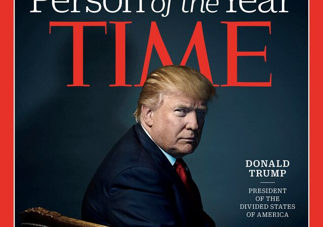 Donald Trump sur la couverture de Time magazine