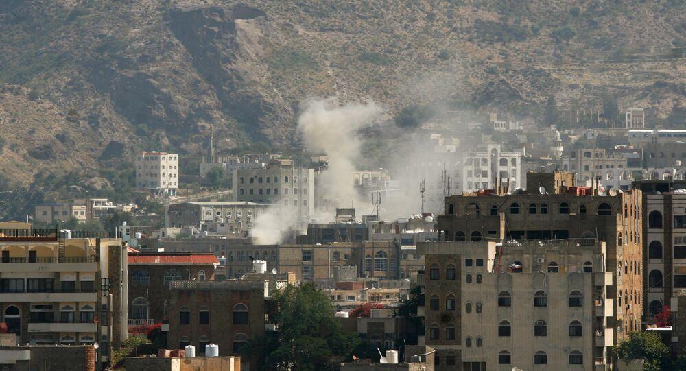 La ville yéménite de Taiz