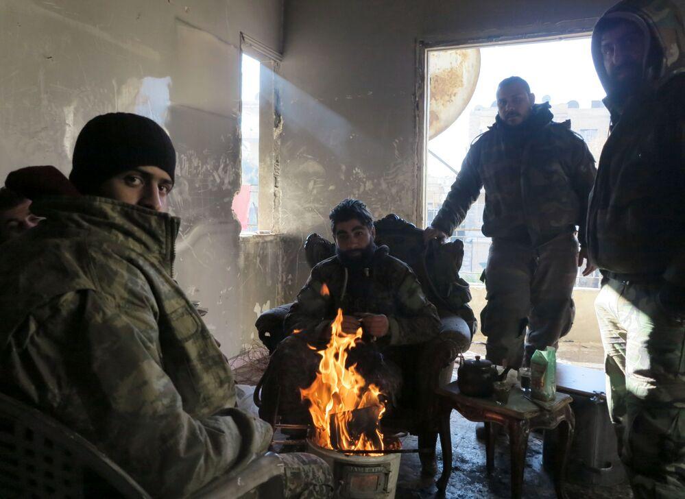 Les quartiers d'Alep libérés des terroristes