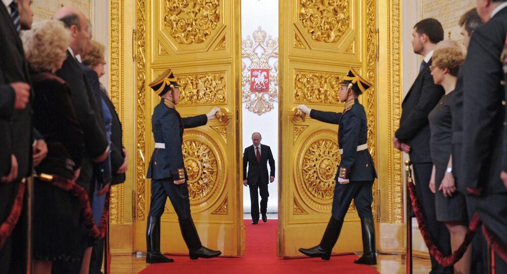 Cérémonie d'investiture du président Vladimir Poutine