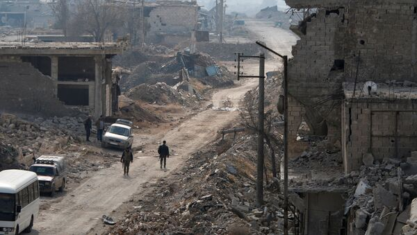 La ville d'Alep - Sputnik France