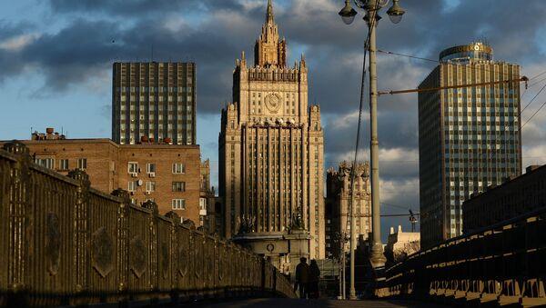 Ministère des Affaires étrangères de Russie - Sputnik France