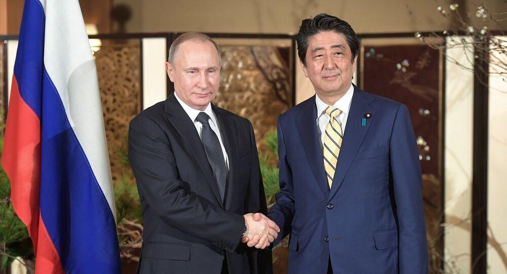 Shinzo Abe à Moscou, traité de paix russo-japonais en vue?