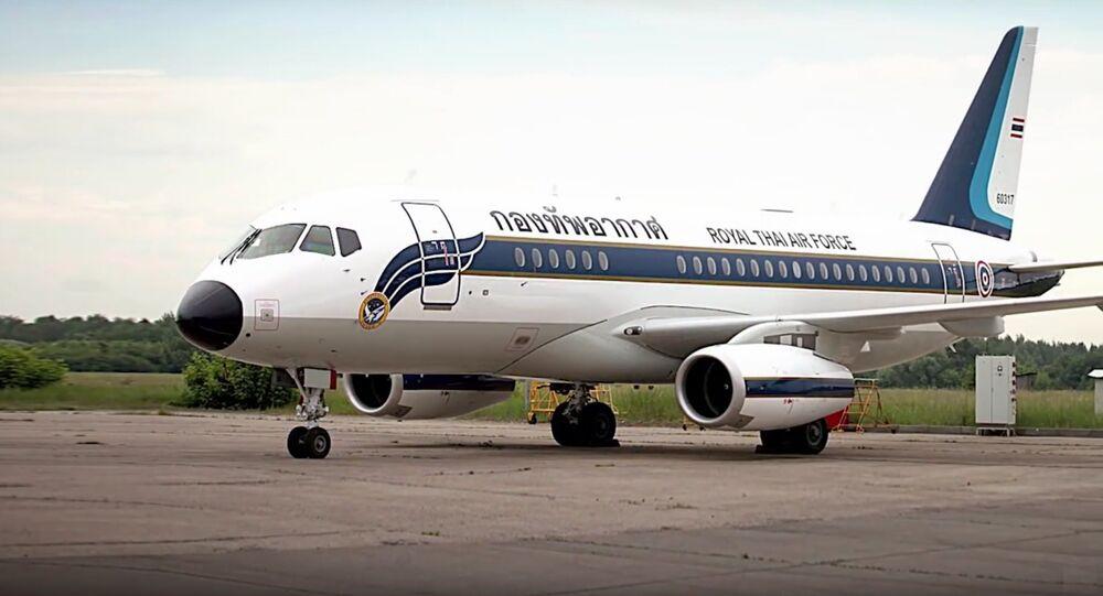 Un troisième avion Sukhoi Business Jet pour la Thaïlande