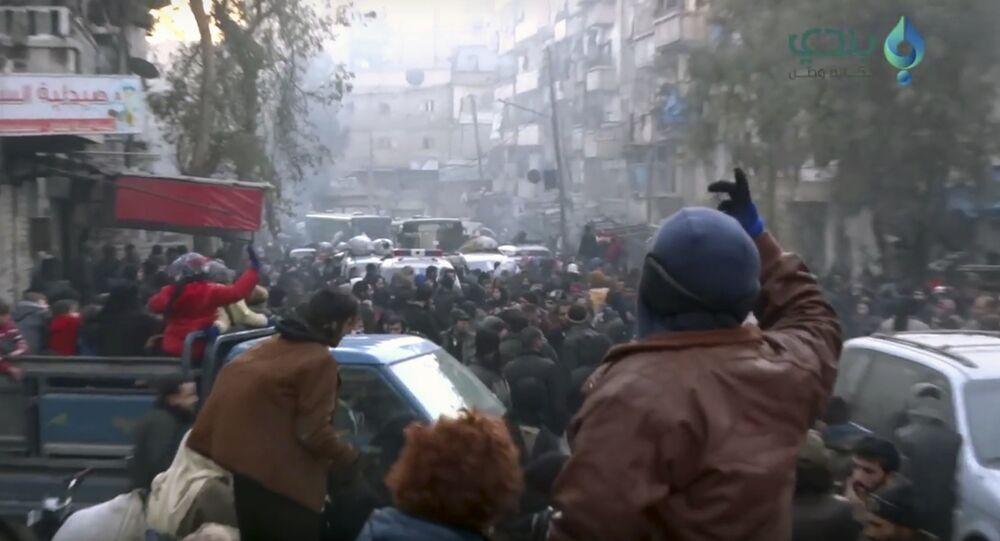 Évacuation d'Alep-Est