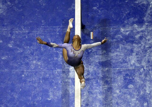 La gymnaste américaine Gabby Douglas