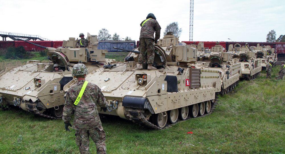 Véhicules de combat d'infanterie Bradley