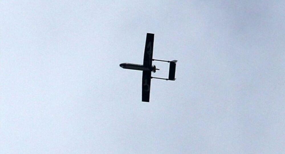 Un drone des Brigades izz al-Din al-Qassam