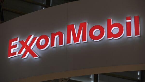 Logo of US oil and gas giant ExxonMobil - Sputnik France