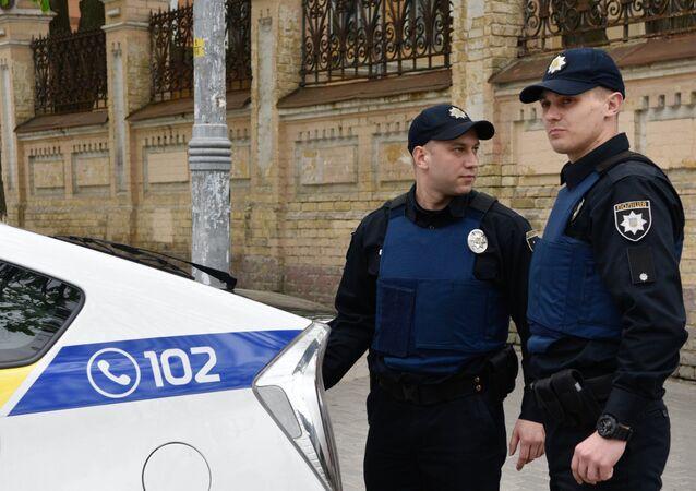 Police ukrainienne. Archive photo