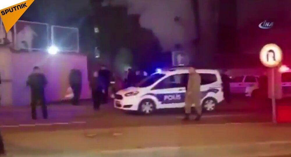 Les premières vidéos de l'attaque contre l'ambassadeur russe en Turquie