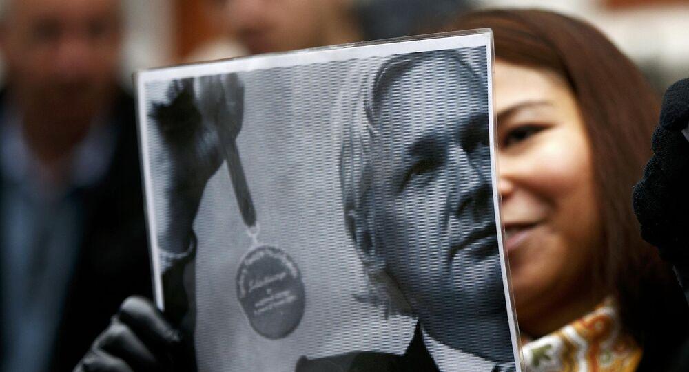 supporter de Julian Assange