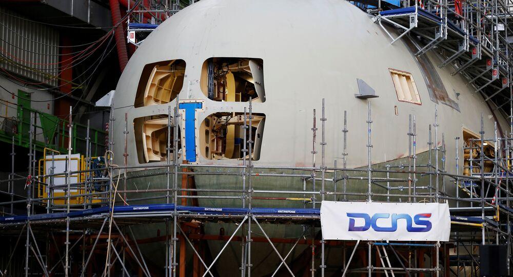 Le Suffren, sous-marin nucléaire du programme Barracuda