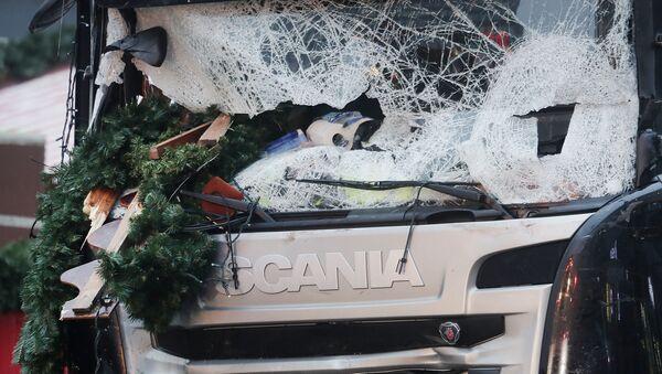 Attentat au camion à Berlin - Sputnik France