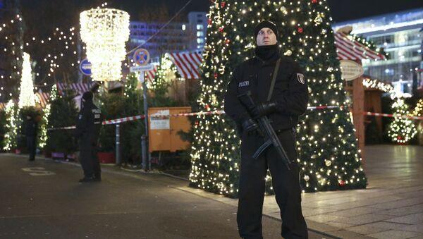 Le marché de Noël de Berlin visé par une attaque terroriste - Sputnik France
