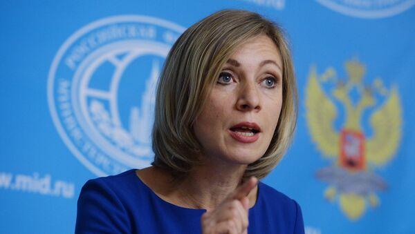 La porte-parole du ministère russe des Affaires étrangères Maria Zakharova - Sputnik France