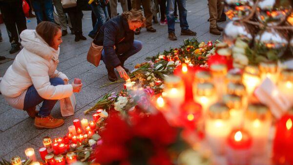 deuil après l`attaque de Berlin - Sputnik France