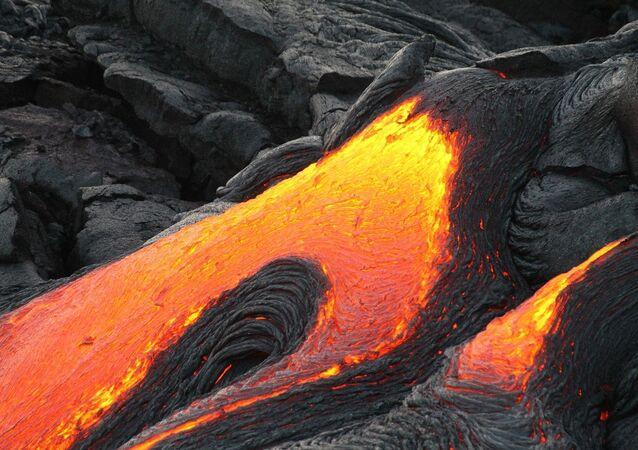Un volcan (image d''illustration)