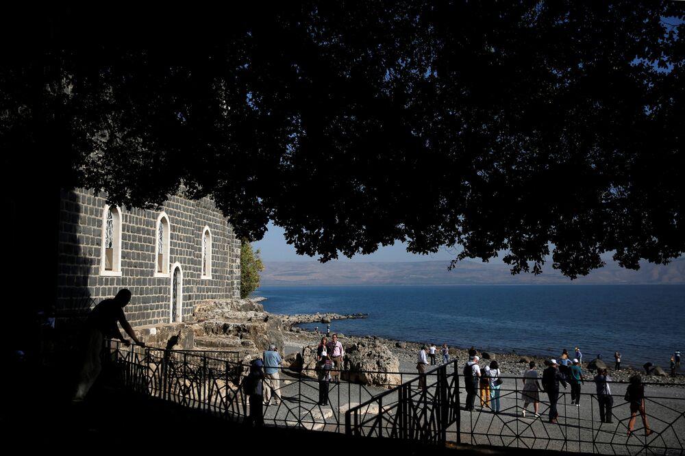 La mer de Galilée, site biblique légendaire