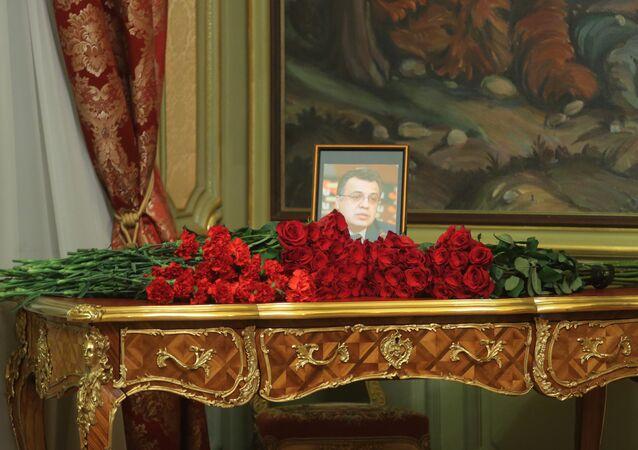 L'ambassadeur russe en Turquie Andreï Karlov