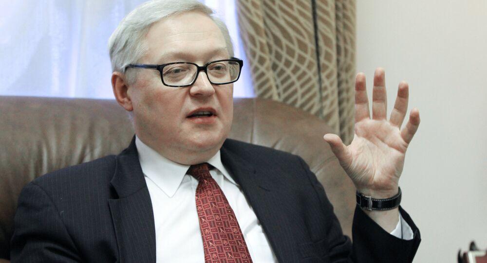 Le vice-ministre russe des Affaires étrangères Sergueï Riabkov